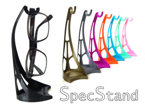 SpecStand Vertical Desktop Glasses Hook, Keyring Hook
