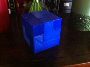 Soma cube (somar cube, if you are me)