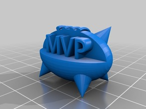 Blood bowl MVP spiked ball trophy