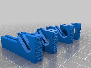 Glass Bed Clips for Monoprice Select Mini v2