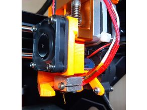 Renkforce RF100XL extruder, based on E3D and MK8