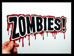 Logo Zombies 2D