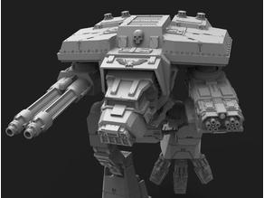 Lucius Pattern Wardog Titan 28mm scale