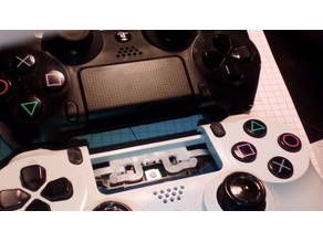 share-options replacement buttons dualshock 4 PS4