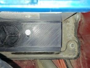 Car battery bracket to hold shorter 74Ah battery instead of longer - 100Ah one