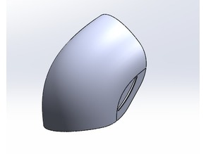 Plain Pauldron