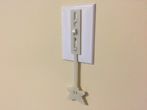 Light Switch Extender for Young Kids - Mario Star