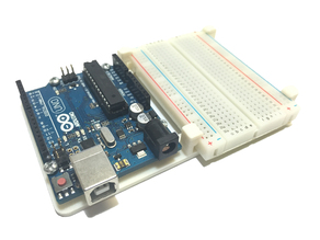 Arduino and Breadboard Holder