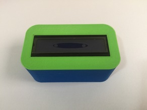 Enclosure fot the 16x2 LCD backpack