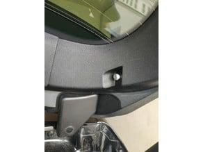 Renault trunk clip