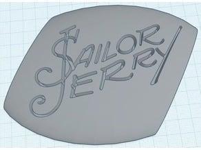 Sailor Jerry Brand Plaque