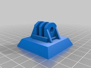 GoPro mount for Sunpak 6200 tripod