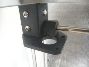 Soporte de motores XY sin insertos y para varilla de 8mm corexy