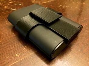 Battery pack belt clip