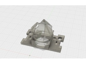 Diamond Head Mount for ANET A8