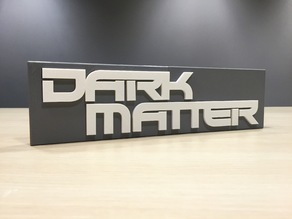 Dark Matter - Main Title Logo