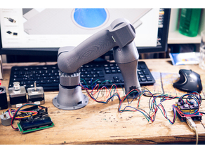 Robot arm - stepper motor
