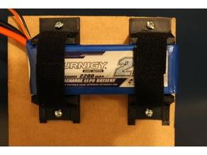 Adjustable battery holder
