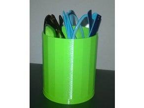 Glasses holder/cylindrical storage box