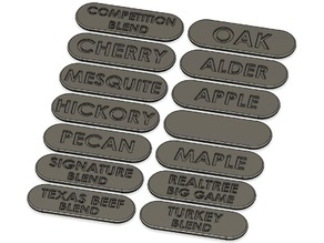 Wood Pellet Labels