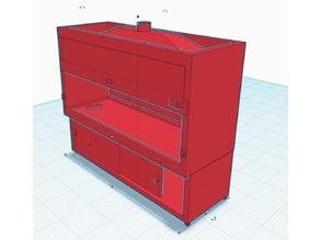 Science Lab Equipment 'Fume Cupboard'
