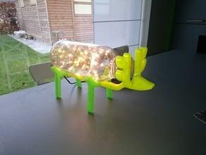Deer sculpture Led Licht 3D printed