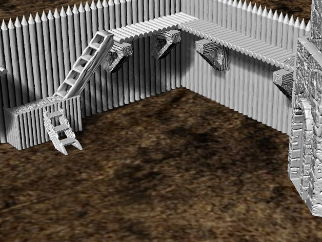 28mm Trade Route Fort