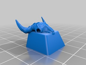 Bison skull Keycap