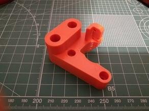 Prusa i3 MK2 Y motor mount mod (damper + robustness)