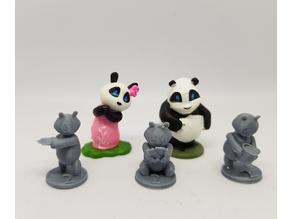 Takenoko Chibis baby panda minis