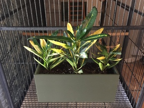 Plant Container for Cage