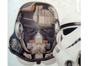 Stormtrooper Helmet Interior Gear (Star Wars)
