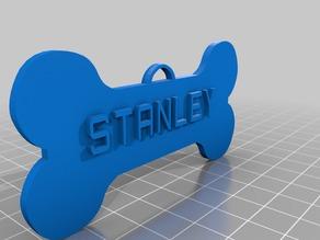 Stanley Dog Tag