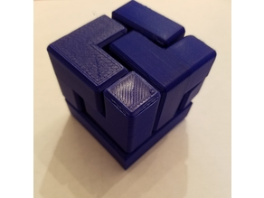 3x3x3 Puzzle Cube (6 Pieces) inspired by Make Anything