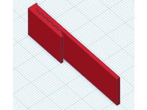 Flag Holder for Command Strips / PowerStrips