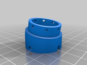 Angled grid adapter for crist chamber
