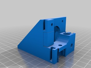 Vertex K8400 Extruder upgrade to print all kinds of flexible(FIXED)