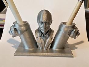 Putin pen holder