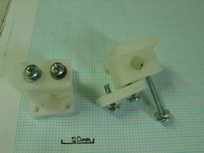 Mendel Y Belt Clamp