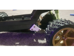 Rc Car Rear Differential Mount