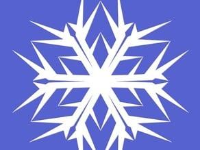 Vector snowflake generator