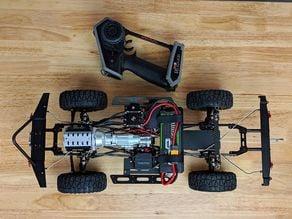 Xtra Speed XS01 scale crawler build