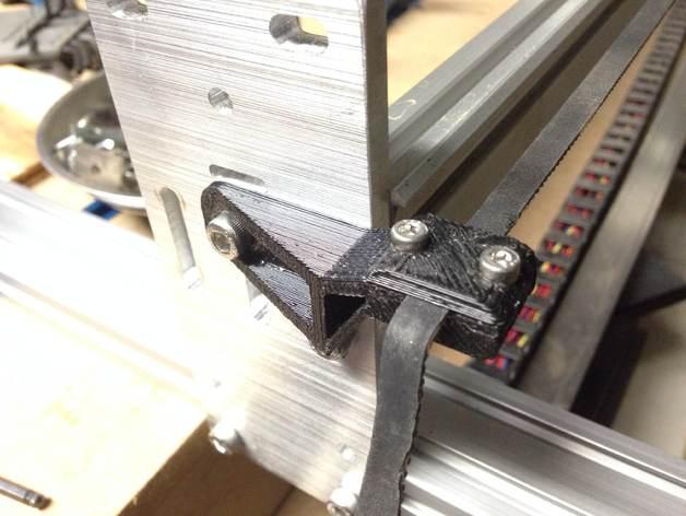Parametric Timing Belt Clamp