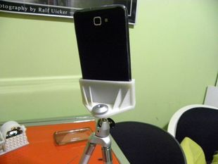 tripod support for Galaxy S and Galaxy Note