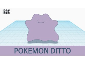 [1DAY_1CAD] POKEMON DITTO