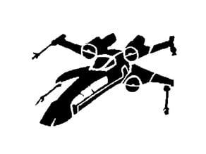 X-Wing stencil