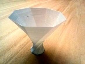 Diverging Spiral Vase