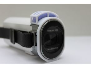Wind guard for Samsung HMX-qf30