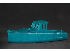 "HO Scale 30' x 10' Maine Lobster Boat"" remix"