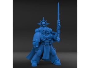 Inspirational General now with cloak and tassels